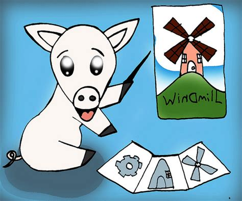 animal farm new windmills 0435121650 snowball animal farm inspired by one of lacey s favourit flickr