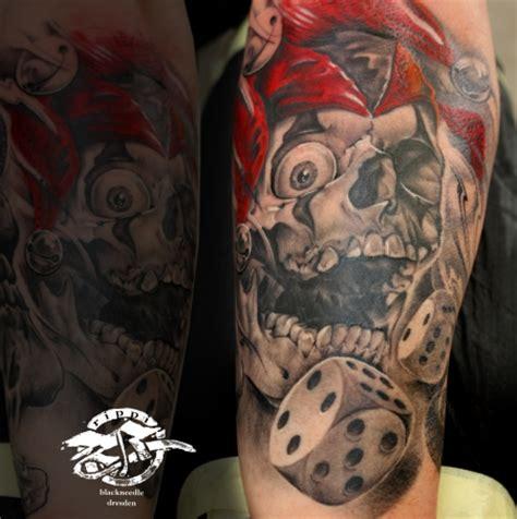 skull joker tattoo vorlagen beste horror und tod tattoos tattoo bewertung de lass