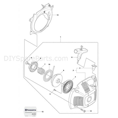 husqvarna 445 chainsaw parts diagram husqvarna 445e chainsaw 2011 parts diagram starter 445e