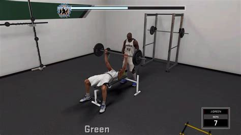 how to lift more on bench press nba 2k17 how to workout and boost upgrade lift weights