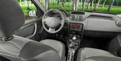 Renault Duster 4x4 Interior by Presentaron El Nuevo Renault Duster En Generalpico La