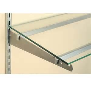 glass shelf support 48 quot discount shelving