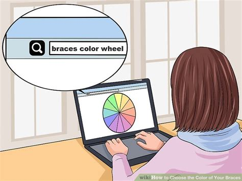 color wheel braces how to choose the color of your braces 14 steps with