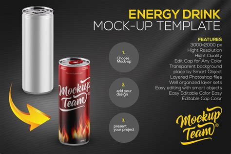 energy drink template energy drink psd mock up 187 designtube creative design