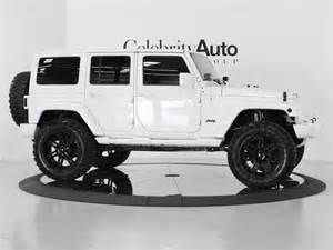 Lifted White Jeep Auto 2013 Jeep Wrangler Unlimited