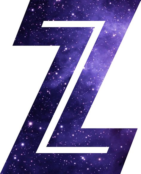Letter Zee Quot The Letter Z Space Quot Stickers By Mike Gallard Redbubble