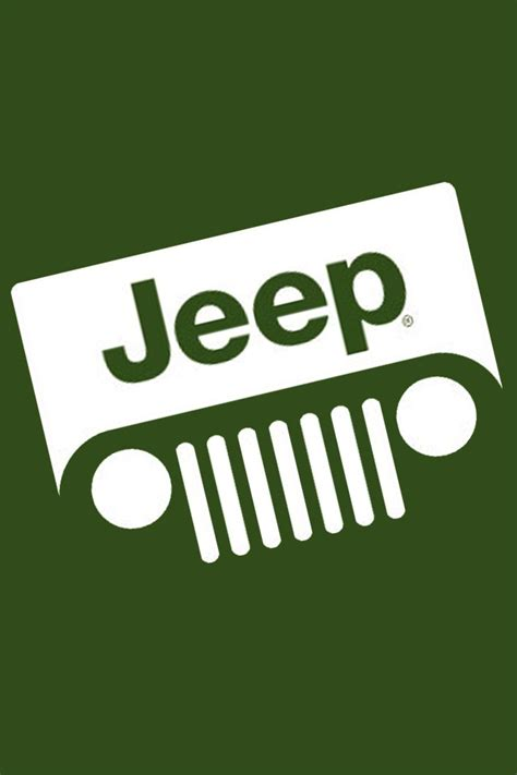 jeep green logo jeep grill emblem bing images