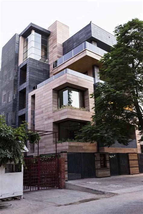 n85 residence in new delhi india cuboid house new delhi residence new friends colony