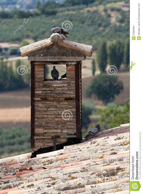 tuile brique tuile de toit et chemin 233 e de brique image stock image