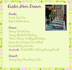 menu ideas for dinner 17 best ideas about easter dinner menu on