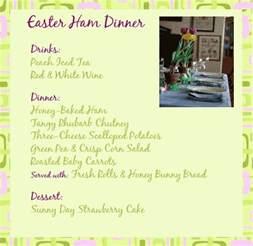 17 best ideas about easter dinner menu on pinterest