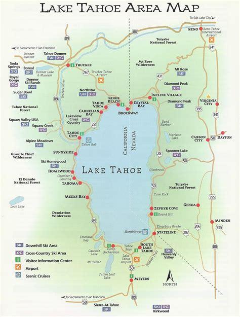 lake maps maps lake tahoe maps