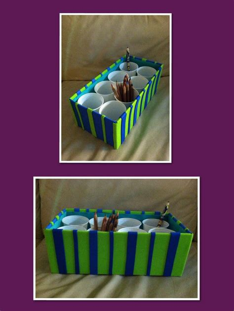 decorating shoe boxes for storage diy this is an easy way to storage your crayons