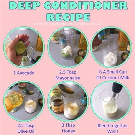 hair after deep conditioning recipe on a girls gotta spa haircare diy deep conditioner natural hair deep conditioners