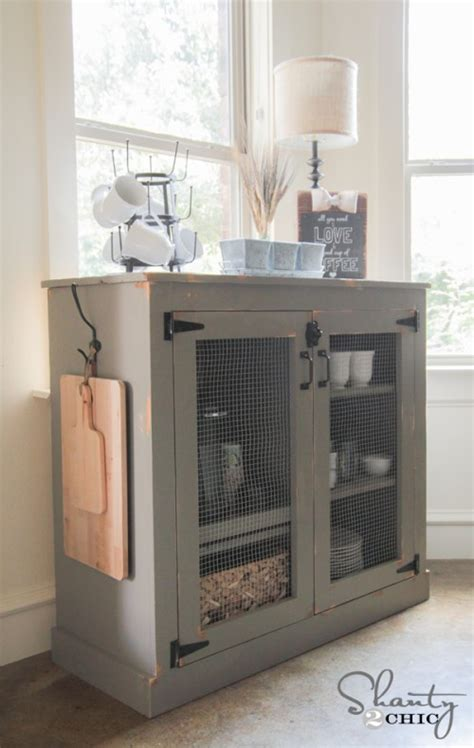 diy cabinet diy farmhouse coffee cabinet shanty 2 chic