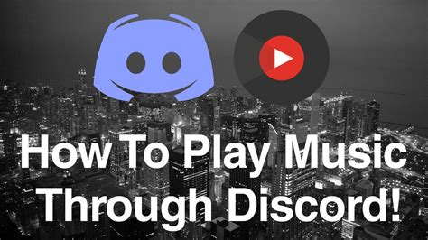 discord how to play music how to play music through discord 2017 youtube