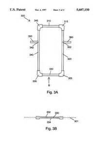 patent us5607150 portable batter s box google patents