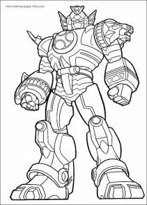 power rangers color coloring pages kids cartoon characters coloring pages