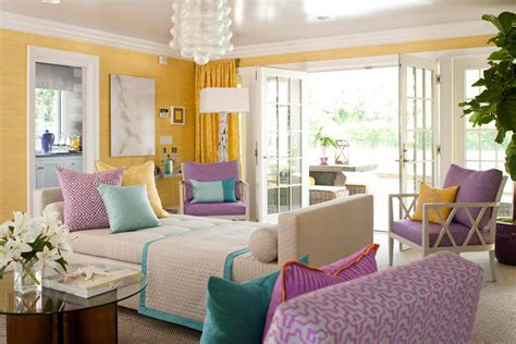 purple color for living room yellow turquoise purple living room for the home