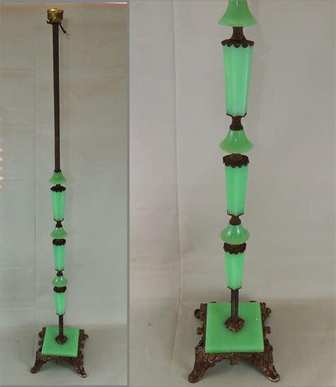 antique floor l parts antique art deco jadeite houze slag glass cast iron floor