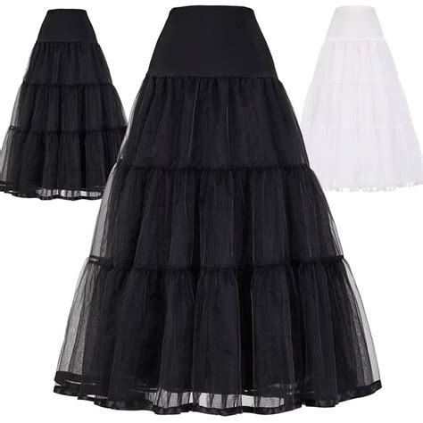 Wedding Dress Underskirt by No Bone A Line Wedding Evening Dress Bridal Petticoat