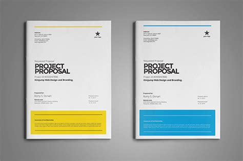 28 free proposal templates microsoft word format download