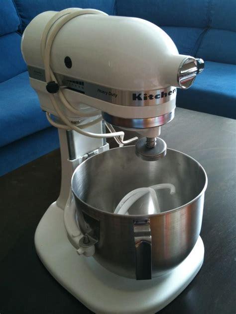 Kitchenaid Heavy Duty K5sswh Mixer kitchenaid heavy duty commercial mixer k5ss ebay