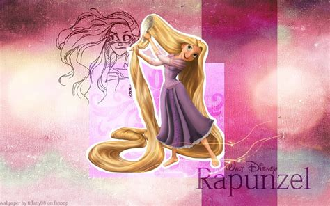 wallpaper cartoon tangled tangled rapunzel cartoon widescreen background for sony