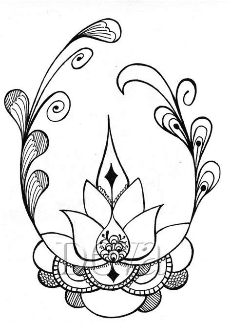 imagenes de flores hindu flor de loto dibujo buscar con google flor de loto