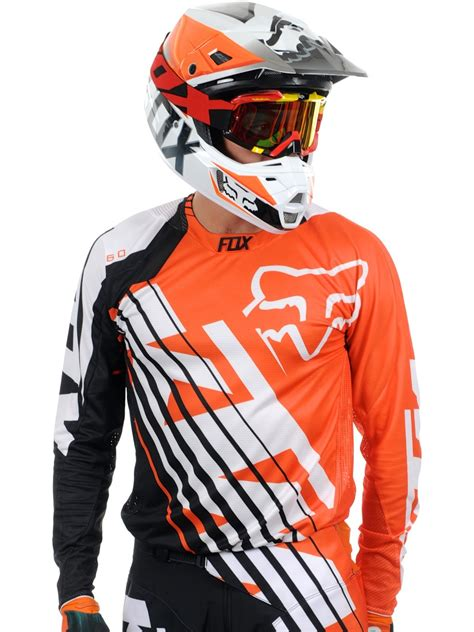 fox motocross suit fox orange 2015 360 ktm mx jersey fox freestylextreme