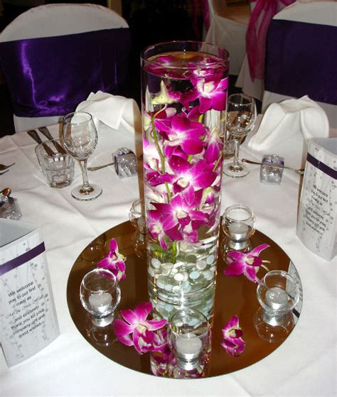 Mobile Home Decorating Ideas Cylinder Vase With Fresh Orchid One Stop Wedding Shop