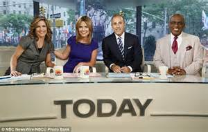 today show set atmosphere on today show set less tense without matt