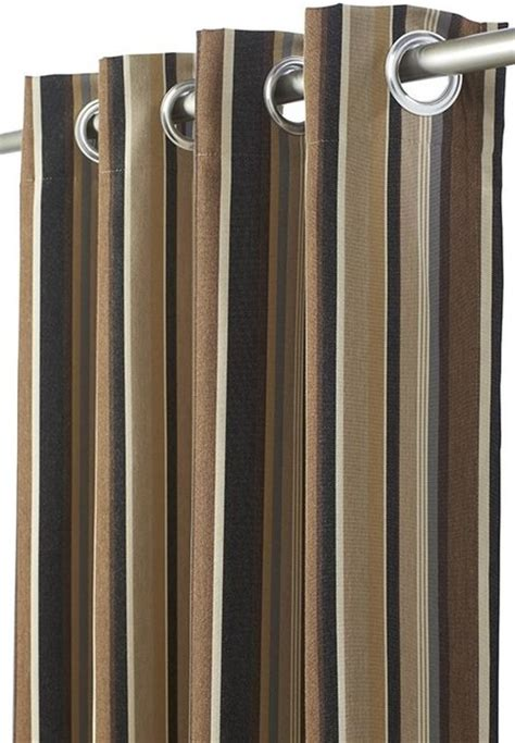 sunbrella curtains patio all weather outdoor patio curtain panel 50 quot w x 84 quot l