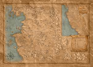 The Witcher World Map by The Dragon Witch Don T Mention Ze War