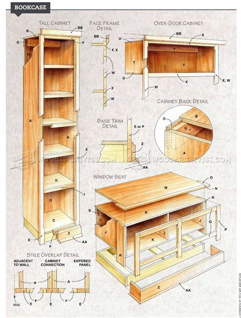 building wood bookshelves