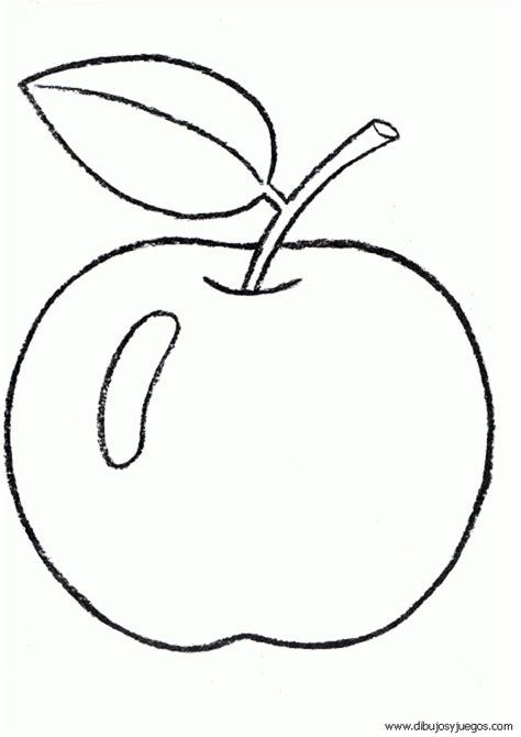 imagenes para colorear manzana 14 manzanas para colorear imagui
