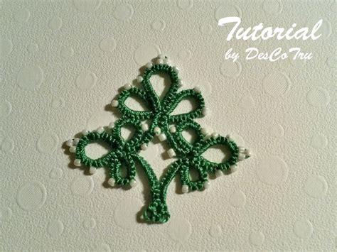 christmas tree tatting pattern pendant tatting pattern christmas tree needle tatting
