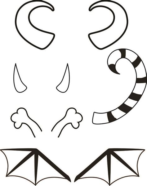 moster template templates for crafts