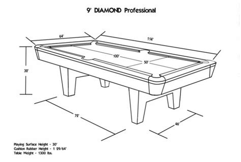 height of pool table guide to choose right pool table sizes
