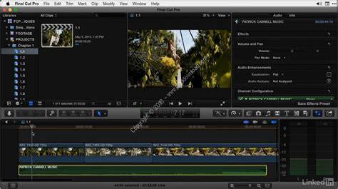 final cut pro lynda lynda final cut pro x guru tutorial series a2z p30