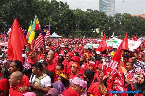 Himpunan Baju Merah himpunan baju merah sah tiada bau busuk air kencing mynewshub
