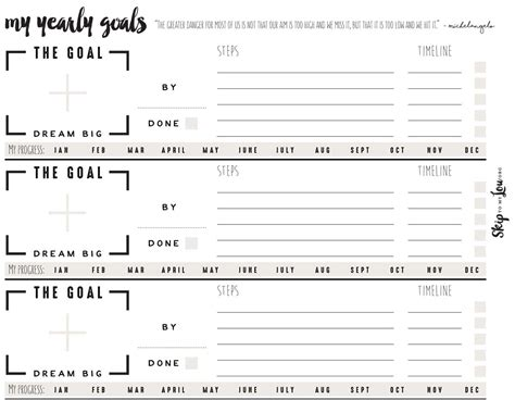Goal Setting Worksheet by Free Goal Setting Worksheets Skip To My Lou