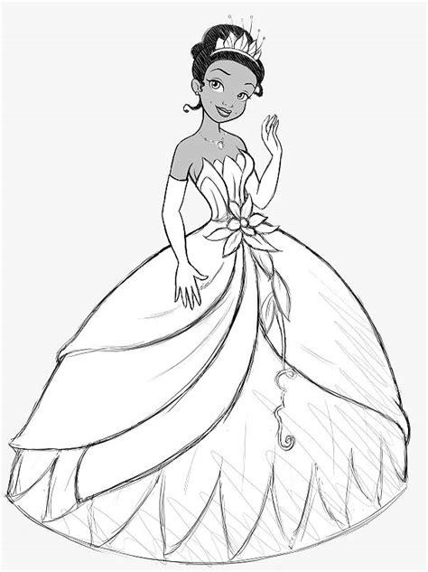 117 Dessins De Coloriage La Princesse Et La Grenouille 224 Princess Diana Coloring Pages Printable