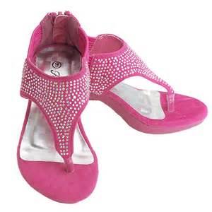 Girls Pink Velvet Platform Heel Wedge » Ideas Home Design