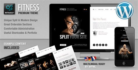wordpress vertical layout 25 best sport fitness wordpress themes 2015
