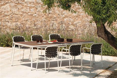 emu tavoli yard t4 tavolo emu in alluminio piano 160x97cm fisso o