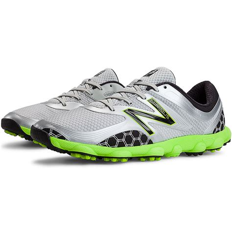 new balance minimus sport golf shoes gray green mens