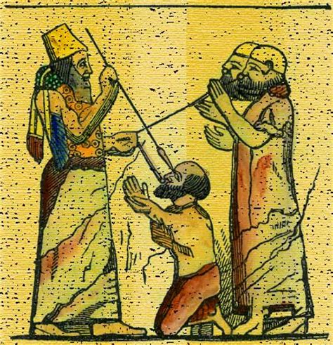 slew foot in the bible king put hooks in their lips bible history online