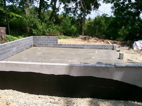 Cement Pad For Shed by Shed And Garage Pad Photos