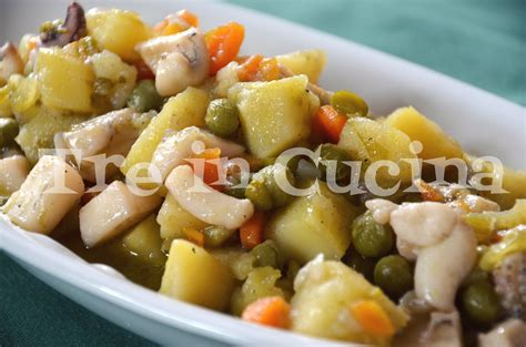 come cucinare seppie e patate seppie patate e piselli ricetta passo passo treincucina